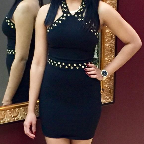 Black dress - short
